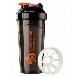 Шейкер Спортивный элемент S02 700 мл оранжевый