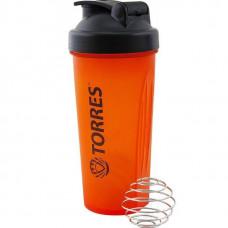 Шейкер Torres 600 мл оранжевый