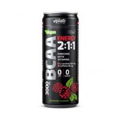 VPLab Bcaa Energy 2:1:1 330 мл со вкусом малины