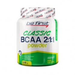 Be First Bcaa 2:1:1 classic powder 200 г со вкусом яблока