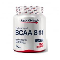 Be First Bcaa 8:1:1 Instantized powder 250 г без вкуса