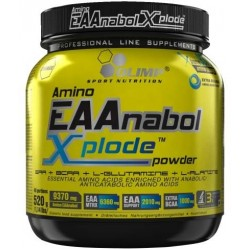 Olimp Amino EAAnabol Xplode Powder 520 г со вкусом персика-холодный чай
