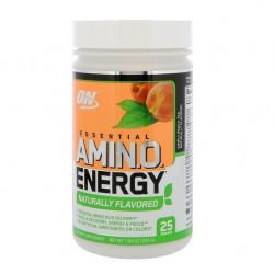 Optimum Nutrition Essential Amino Energy Naturally Flavored 225 г, персиковый лимонад