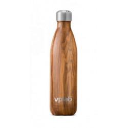 VPLab Термо бутылка металл 500 мл - цвет: дерево, цвет2: дерево