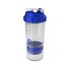 Gsi Шейкер Spider Bottle Mini2Go 2 отсека 500 мл прозрачный/синий