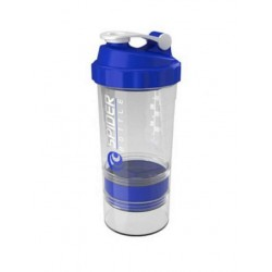 Gsi Шейкер Spider Bottle Maxi2Go 2 отсека 600 мл прозрачный/синий