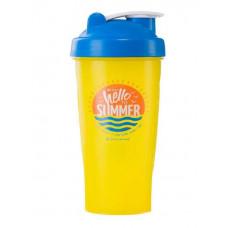 Спортивный элемент Шейкер Hello Summer - Жёлтый Time to say hello to Summer 600 мл
