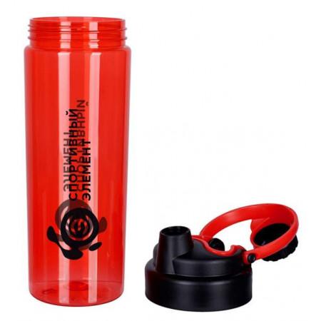 Спортивный элемент Бутылка - S71-800 800 мл - цвет: рубин, цвет2: рубин