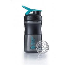Blender Bottle Шейкер SportMixer 591 мл - цвет: aqua - голубой, цвет2: aqua - голубой