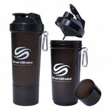 SmartShake Slim 500 мл со вкусом дымчатый чёрный