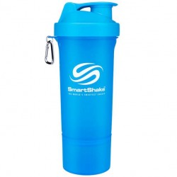 SmartShake Slim 500 мл - цвет: неоновый голубой, цвет2: неоновый голубой