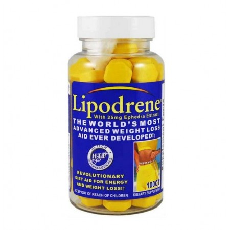 Жиросжигатель Hi-Tech Pharmaceuticals Lipodrene 25 Ephedra, 100 таблеток