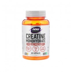 Now Creatine Monohydrate 750 мг 120 капсул