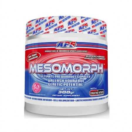Aps Nutrition Mesomorph 388 г со вкусом carnival cotton candy