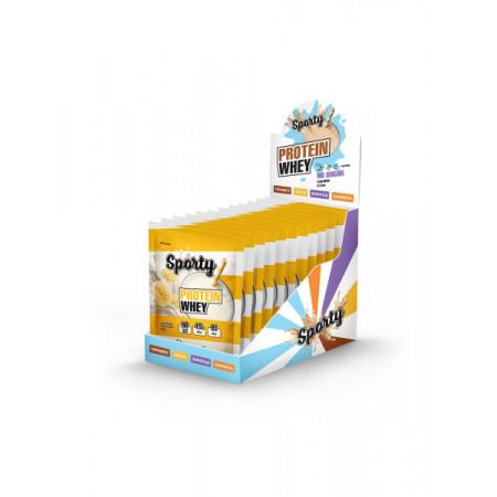 Sporty Protein Whey 25 г со вкусом банана