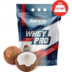 GeneticLab Nutrition Whey Pro 2.1 кг со вкусом кокоса