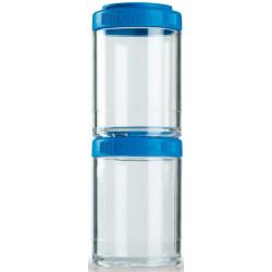Blender Bottle Контейнер GoStak - цвет: синий, цвет2: синий 2х150 мл