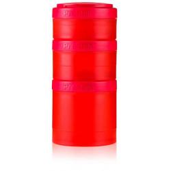 Blender Bottle ProStak Expansion Pak Full Color - цвет: красный, цвет2: красный