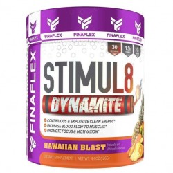 Finaflex Stimul8 Dynamite 126 г со вкусом hawaiian blast