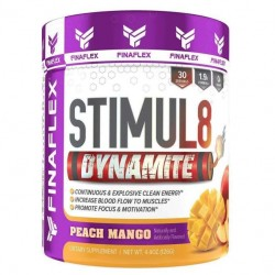 Finaflex Stimul8 Dynamite 126 г со вкусом peach mango