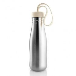 """Бутылка для воды """"Active"""", 700 мл, цвет: бежевый"""