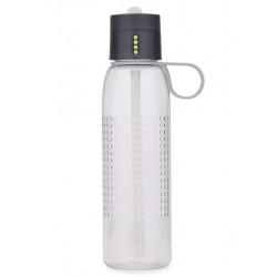 """Бутылка для воды """"Dot Active"""", 750 мл, цвет: серый"""