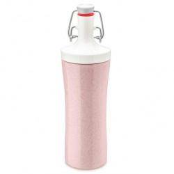 """Бутылка для воды """"Plopp to go organic"""", 425 мл, цвет: розовый"""