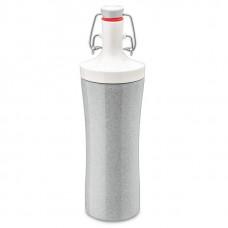"""Бутылка для воды """"Plopp to go organic"""", 425 мл, цвет: серый"""