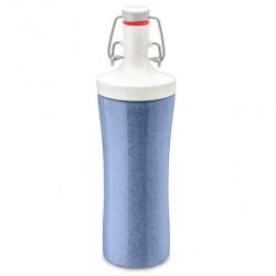 "Бутылка для воды ""Plopp to go organic"", 425 мл, цвет: синий"