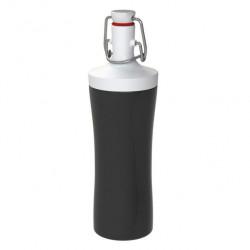 "Бутылка для воды ""Plopp to go"", 425 мл, цвет: черный"