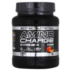 Scitec Nutrition Amino Charge, 570 г, вкус: персик