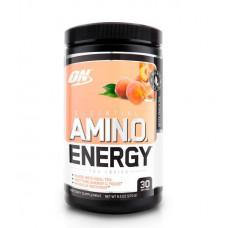 Optimum Nutrition Amino Energy Tea Series, 270 г, вкус: белый персиковый чай
