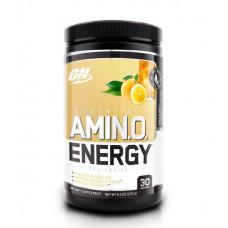 Optimum Nutrition Amino Energy Tea Series, 270 г, вкус: лимонад-ледяной чай