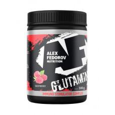 Alex Fedorov Nutrition Glutamine +ISC, 300 г, вкус: малина