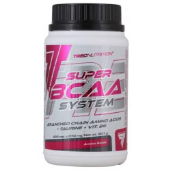 Trec Nutrition Аминокислоты SUPER BCAA System, 300 капс