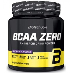BioTech BCAA Zero, 360 г, вкус: апельсин
