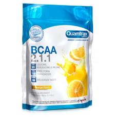 Quamtrax Nutrition Аминокислоты Quamtrax BCAA 2:1:1 Powder, 500 г, вкус: апельсин