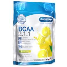 Quamtrax Nutrition Аминокислоты Quamtrax BCAA 2:1:1 Powder, 500 г, вкус: лимон