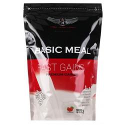 Red Star Labs Гейнер Basic Meal, 900 г, вкус: клубника