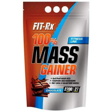 FIT-Rx Гейнер FIT-Rx 100% Mass Gainer, 900 г, вкус: шоколад