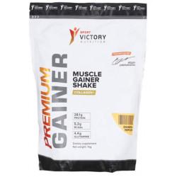 Sport Victory Nutrition Premium Gainer, 1000 г, вкус: ваниль-персик