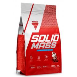 Trec Nutrition Гейнер Solid Mass, 1000 г, вкус: клубника