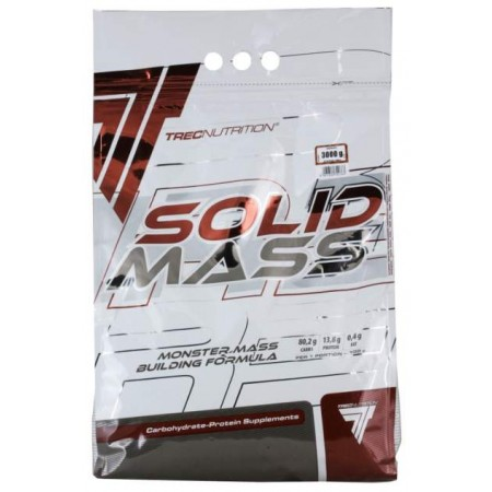 Trec Nutrition Гейнер Solid Mass, 3000 г, вкус: шоколад