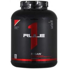 Rule One Proteins R1 Gain, 2270 г, вкус: клубничный крем