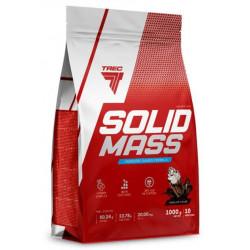 Trec Nutrition Гейнер Solid Mass, 1000 г, вкус: шоколад