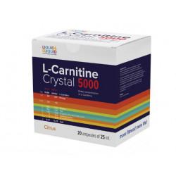 Liquid & Liquid L-Carnitine Crystal 5000, 20 амп, вкус: цитрус
