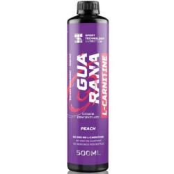 Sport Technology Nutrition Guarana + L-Carnitine liquid concentrate, 500 мл, вкус: персик