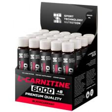 Sport Technology Nutrition L-Carnitine 6000, 20 амп, вкус: черная смородина