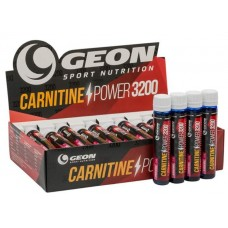 GEON Carnitine Power 3200, 20 амп, вкус: клубничный мохито