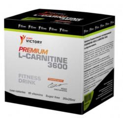 Sport Victory Nutrition Premium L-carnitine 3600, 20 амп, вкус: апельсин